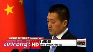 China angry U.S. warship entering South China Sea