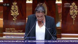 Le discours de cette députée aide-soignante va vous bouleverser !