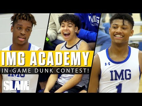 Noah Farrakhan & IMG Have In Game Dunk Contest 🚀😤