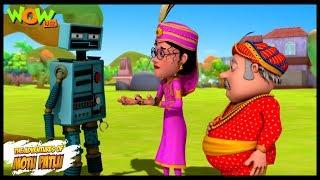 Salim Robot - Motu Patlu in Hindi