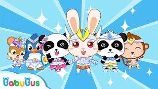 Super Rabbit Momo | Defeat Bad Bacterial | Doctor Pretend Play | Kids Good Habits | BabyBus