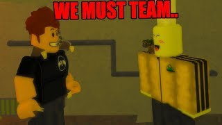 ROBLOX BIG BROTHER EPISODE 1 *WE HAD TO TEAM*
