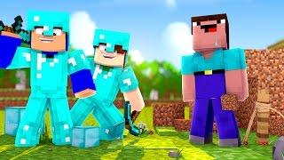 Minecraft: TRANSFORMANDO UM NOOB EM PRO! (Série Desafios)