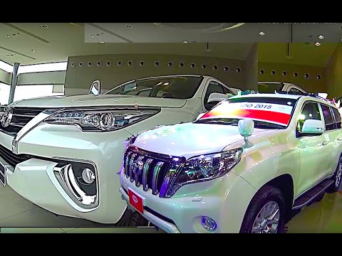 New Toyota Fortuner 2015-2016 VS new Toyota Land Cruiser Prado 2015-2016