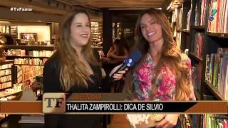 Thalita Zampirolli agradece Silvio Santos por conselhos para ser atriz