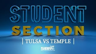 Tulsa vs Temple | College Football Free Picks | The Student Section Clips