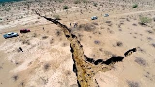 Can You Guess What Caused This Giant Crack in the Earth