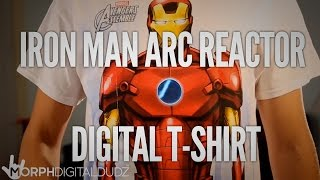 MorphDigitalDudz - Iron Man Arc Reactor Tshirt