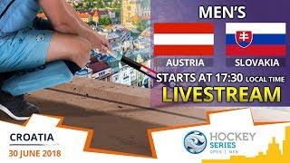 Austria v Slovakia | 2018 Men's Hockey Series Open Zagreb | FULL MATCH LIVESTREAM