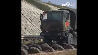 مهارة قيادة الشاحنة|CCTV Arabic