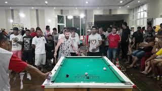 Maycon x Polakinho torneio de bolinho Ibaté