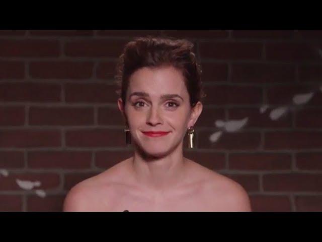 Jennifer Lawrence, Emma Watson & Gal Gadot Read MEAN Tweets On Kimmel