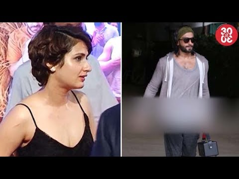 Fatima Does 'Thugs Of Hindostan' Reading Sessions At Aamir's Home | Ranveer Spotted Outside A Club