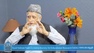 Syed Salman Nadvi Interview with (Shaykh) Jahangir Mahmud - Society for Educational Research (SER)