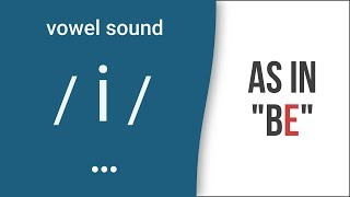 Vowel Sound /i/ as in