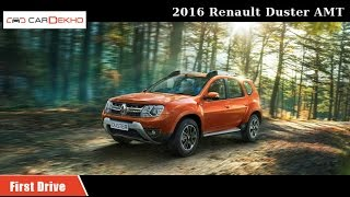 2016 Renault Duster AMT | First Drive Review | CarDekho.com