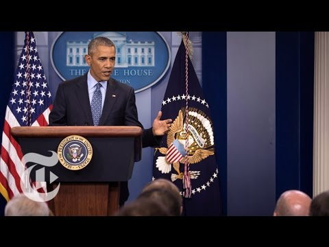 President Barack Obama's Final News Conference Full Video The New York Times