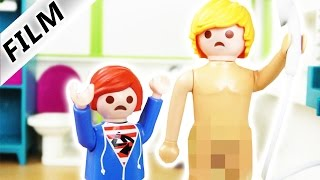 Playmobil Film Deutsch - JULIAN SIEHT PAPA NACKT! TYPISCH JULIAN! Kinderserie Familie Vogel