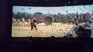 Fans Reaction for Sultan 440 Volt song of Salman khan and Anushka Sharma in Kurnool City