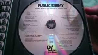 Public Enemy It takes a nation of millions to hold us back unboxing