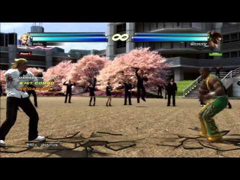 Tekken Tag 2- Steve Fox Wildman Cancel Tutorial