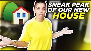 OUR NEW HOUSE!?
