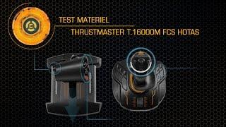 Test du T.16000M FCS HOTAS Thrustmaster - Elite Dangerous [FR]