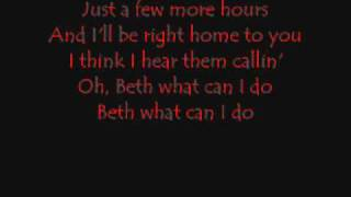 Beth Lyrics