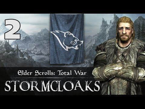 EPIC SIEGE OF HELGEN - Elder Scrolls: Total War - Stormcloaks Campaign #2
