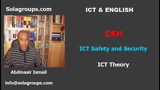 ICT Safety and Security