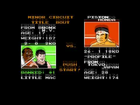 NES: Mike Tyson's Punch Out - Minor Circuit with Commentary