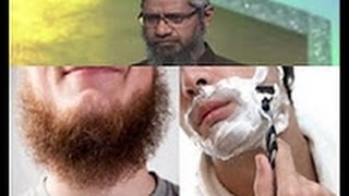 Dr Zakir Naik talking about dadhi Beard | muslims must watch | and follow this please