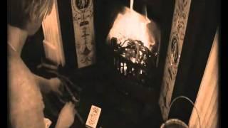 How to light an open fire