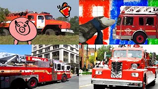 Firetruck songs - Hurry hurry drive the firetruck and another 7 children's songs