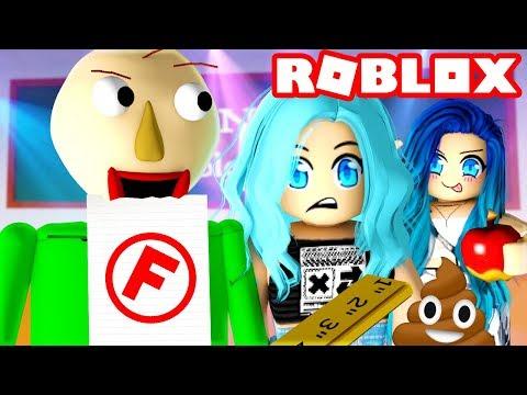 Don t get caught in Roblox Baldi Basics