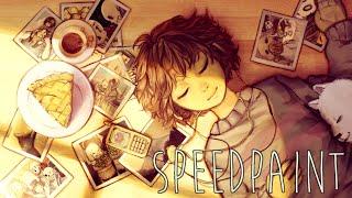 Undertale Anniversary Speedpaint: A Year of Memories
