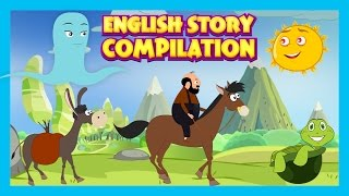 English Story Compilation For Kids - Kids Stories || Friendship and Partnership Stories For Children