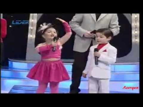 Azerbaycan balalari Daglarda Duman GREAT
