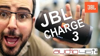 JBL Charge 3. Altavoces Bluetooth de locura. Review