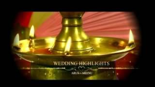 ARUN MEENU KERALA WEDDING HIGHLIGHTS