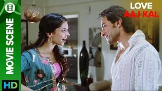 Start of a new friendship | Love Aaj Kal | Movie Scene
