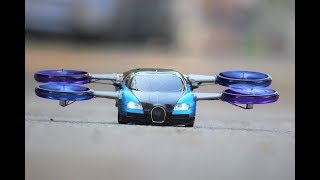 How To Make a Helicopter - Airplane Car