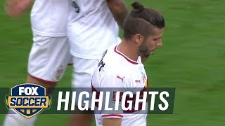 Emiliano Insua scores beautiful goal to tie match vs. SC Freiburg | 2018-19 Bundesliga Highlights