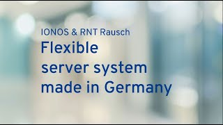 Flexible server system made in germany
