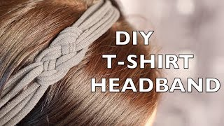 Download How To Make A Headband - Using An Old T-Shirt 3Gp Mp4