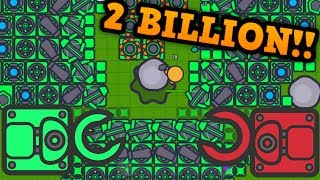 ZOMBS.IO - 2 BILLION WORLD RECORD!! // Harvester Tower Update (Zombs.io Funny Moments)