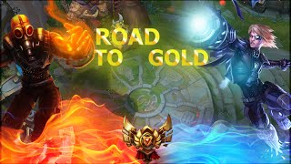 League Of Legend - Road To Gold #1 - Lux supp op