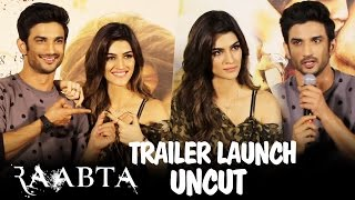 UNCUT - Raabta Trailer Launch | Sushant Singh Rajput & Kriti Sanon | Press Conference