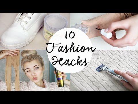 10 Fashion Life HACKS Everyone Should Know