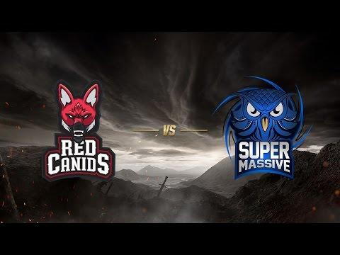 Red Canids ( RED ) vs SuperMassive eSports ( SUP )   MSI 2017 Ön Eleme 3. gün